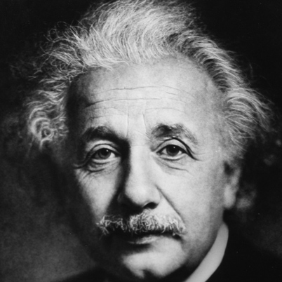 """The significant problems we face cannot be solved at the same level of thinking we were at when we created them"". (Albert Einstein)"